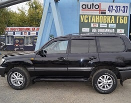 Toyota Land Cruiser 100 V8 4.7 ГБО-OMVL